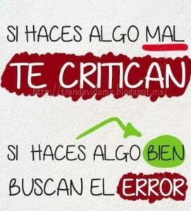 Imágenes de Reflexión para los que Critican (1)